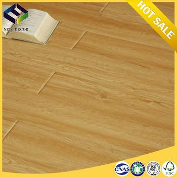 e0 chiping shandong 10mm rubber wood laminate flooring