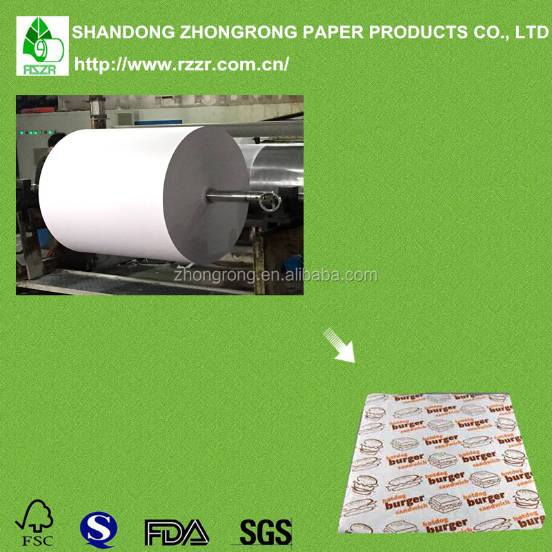 Most popular fast food paper packaging with pe