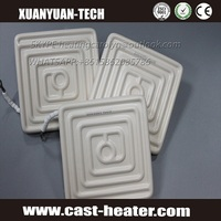 Air Cooling Far infrared ceramic plate heater with reflector