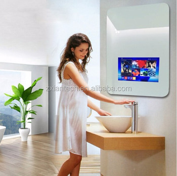 Lcd Screens Touch Screen Smart Mirror Android Bathroom Magic Wifi Waterproof Tv Ip65 Shower