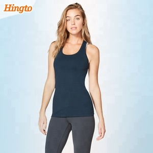100% cotton custom stringer workout dry fit plain fitness gym tank top women in bulk manufacturer