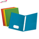 A4 poly plastic portfolio 3 prongs pocket folder