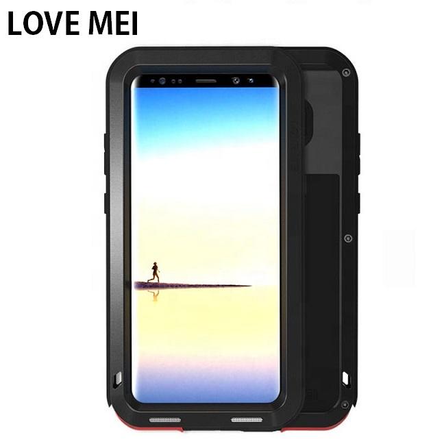 best website 83d06 145de Lovemei Shockproof Aluminum Metal Waterproof Protective Phone Case For  Samsung Galaxy S9 S8 Plus Note 8 Back Cover - Buy Shockproof Aluminum Metal  ...