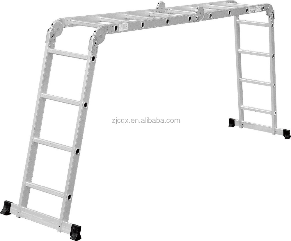 Hot selling outdoor combine magic aluminum ladder 12 foot ladder for sale