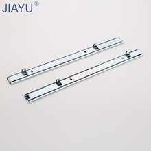 27mm Two fold bottom support telescopic drawer rail