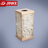 Classical Hotel Advertising Garbage Bin, Demoutable Rubbish Container