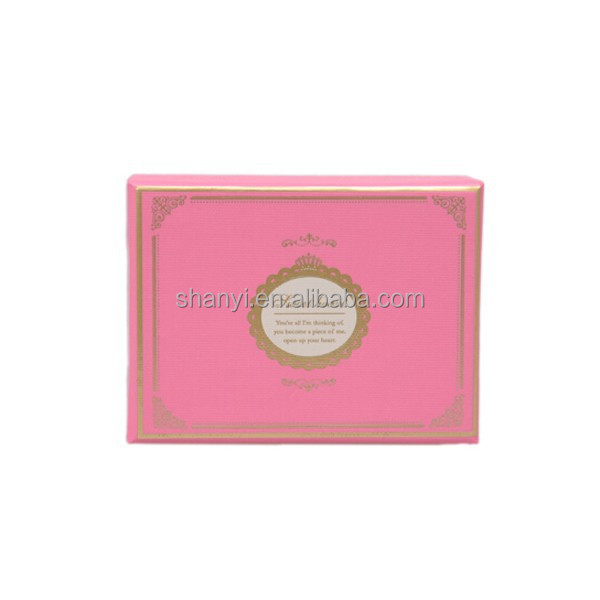 Mountain Cardboard Packging Gift Paper Chocolate Box