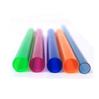 Colorful Pp Profile Acrylic Rod Tube Extrusion Plastic Pipe