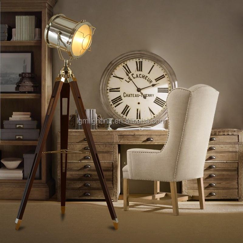 loft industrie hardware segeln suchstehleuchte papier. Black Bedroom Furniture Sets. Home Design Ideas