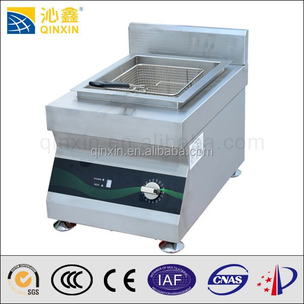 Qinxin hot sell best quality chicken deep fryer machine