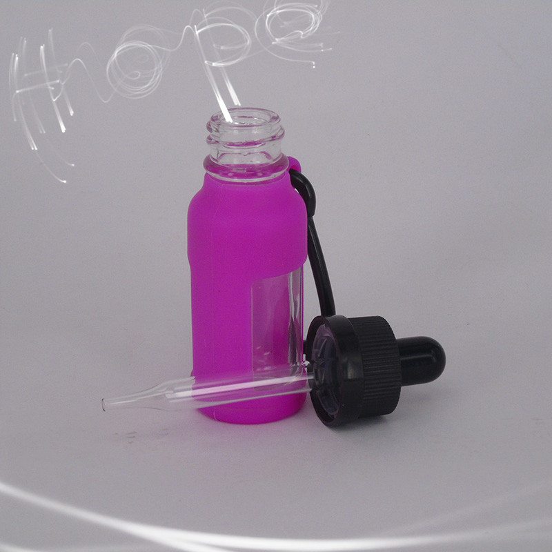 New items child proof portable cosmetic dropper water bottles with rose red package