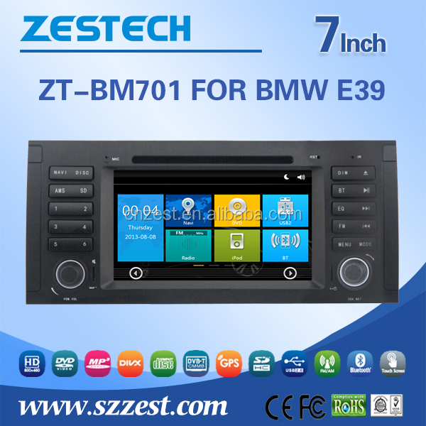 car audio system with reverse camera For BMW E39 car gps with auto radio Bluetooth SD USB Radio wifi 3G
