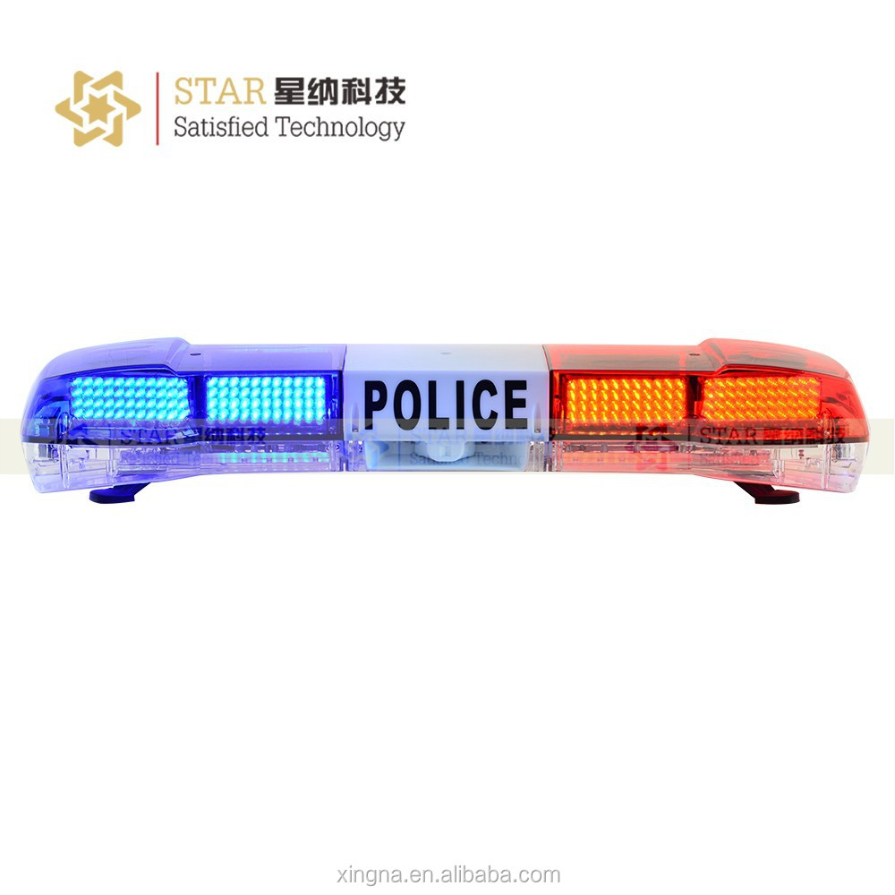 CE ROH certificated police warning lamp led warning lightbar for police TBD-6000L