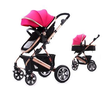 Бренд детская коляска младенцы багги алюминиевый сплав материал раскладной и высокая пейзаж и ударопрочный прибытие