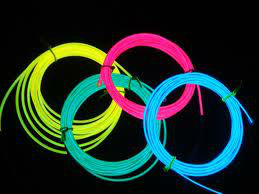 electroluminescent cable,2.3mm,3.2mm el cable