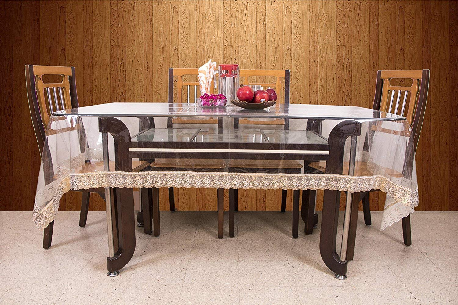 8 seater extending dining table white get quotations kuber industries20 mm dining table cover transparent seater 45x70 inches golden lace cheap extending table find