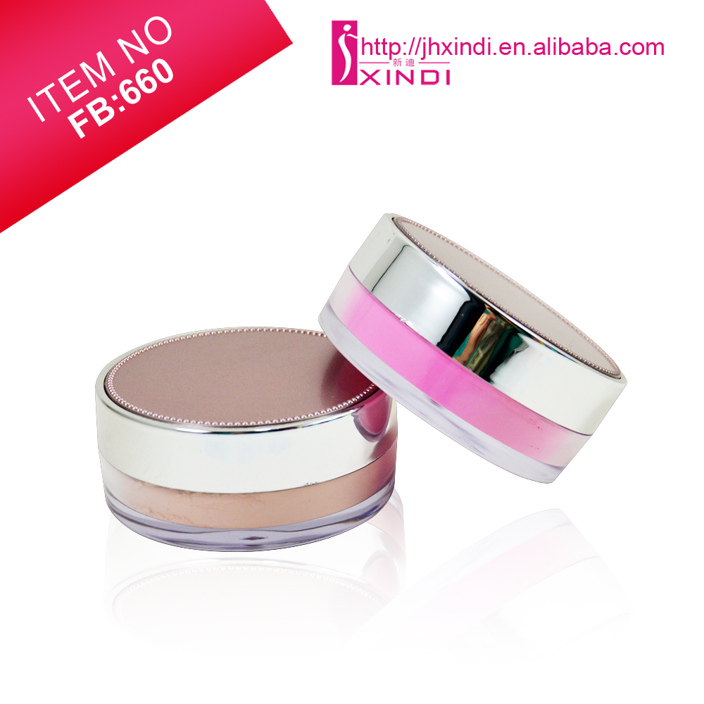 Factory Outlets Private Label Loose Powder with Puff Silk Finishing Cruelty Free Loose Powder