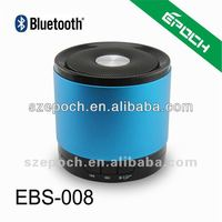 iPhone/iPad/iPod Metal Wireless Battery Bluetooth 3W Mini Speaker Mic Blue speaker