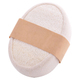 Shower Strap Bath Exfoliating Loofah Back Scrubber Sponge Organic Natural Luffa with Long Cotton Handle