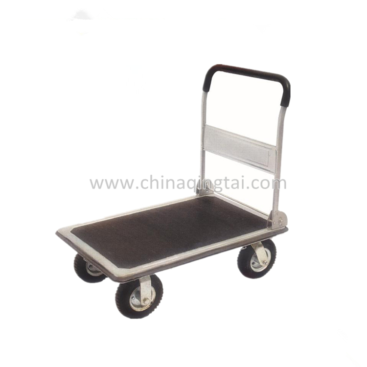 Foldable platform hand truck trolley for china