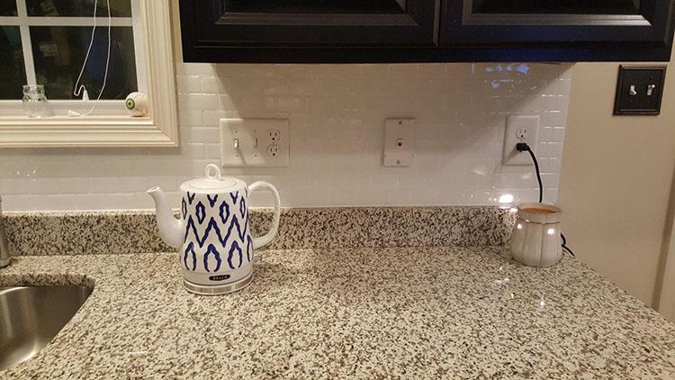 Sticky tile stick on vinyl wall stick for kitchen backsplash buy