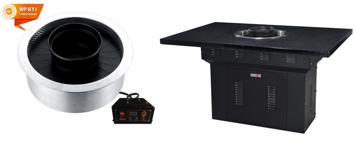 Hot Pot And BBQ Grill Table For Sale-Winpai-3