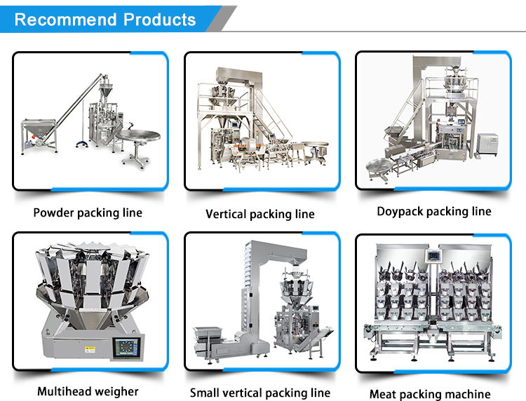 2018 automatic pouches breakfast cereal packing machine