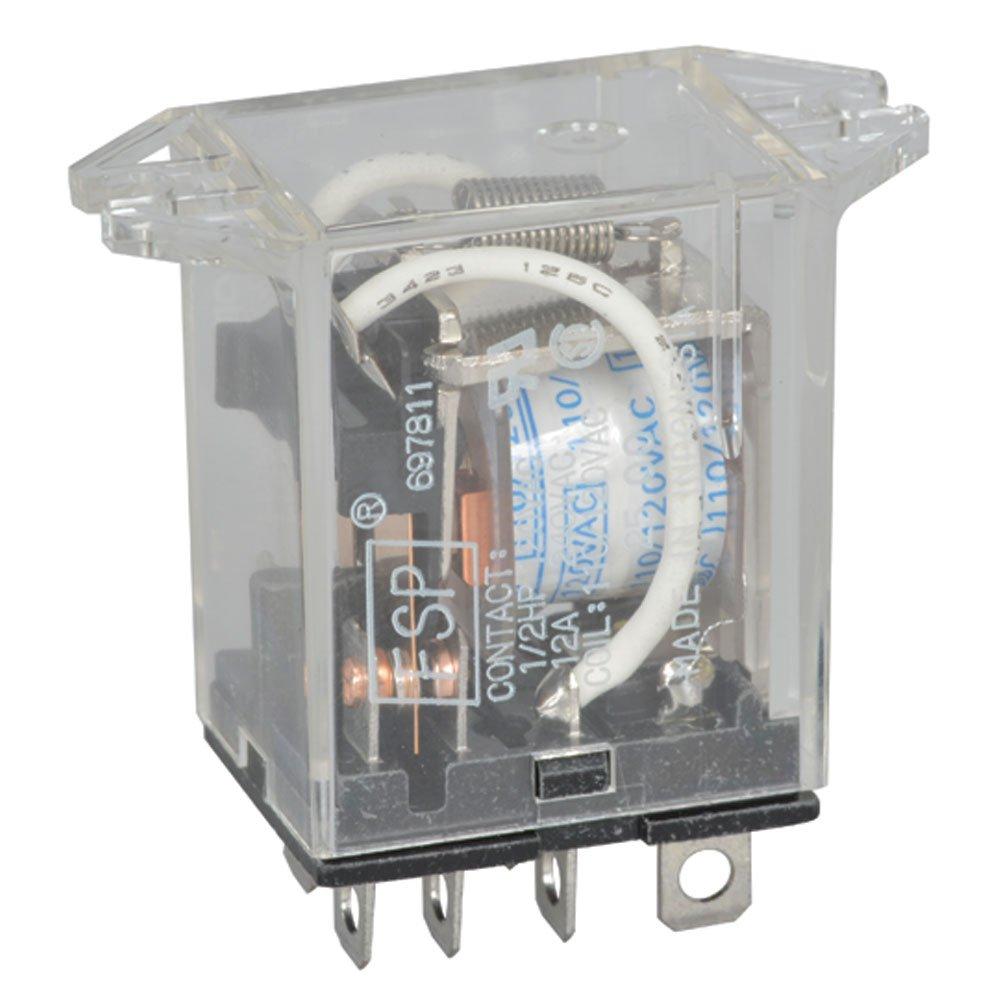 OMRON MKS2PIAC240 Plug In Relay,8 Pins,Octal,240VAC