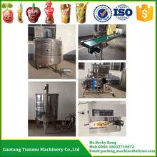 1T/H Complete Fruit Juice/Juice Drink Production Line