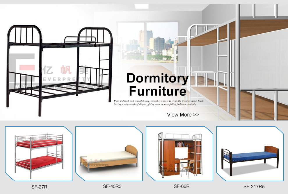 Cheap Price School Furniture Easy Clear Bunk Bed With