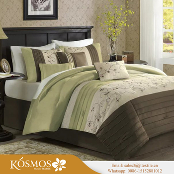 KOSMOS Printing Bedding Set Printed Bed Sheet Set Printing Bed Linen Set  Made In Nantong Home