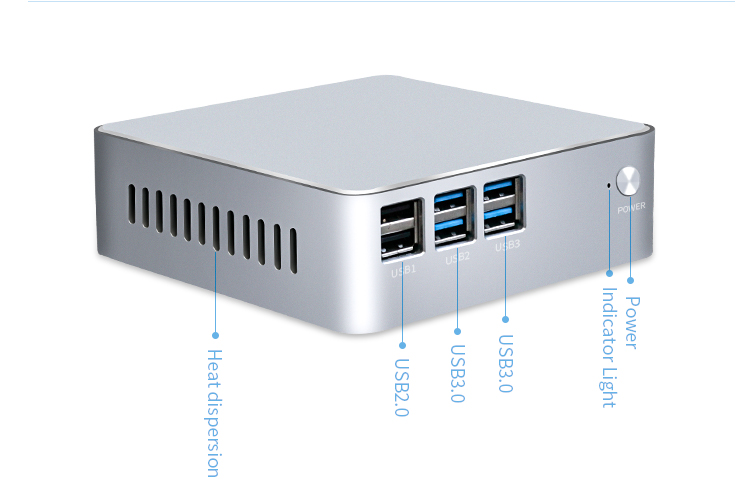 Touchpie Intel core i3 i5 i7 Mini Desktop PC with barebone system version