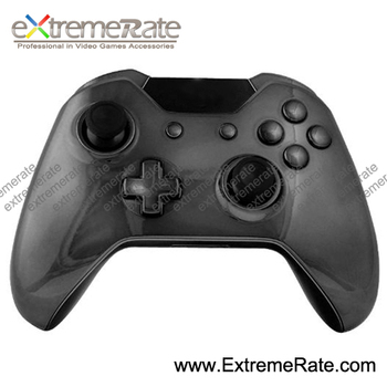 Repair Part Kits Polished Components Chrome Black Shell For Xbox One