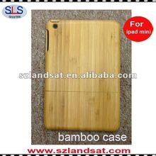 100% hand-made natural bamboo case for mini ipad IBC22