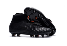 Latest fashion cheap breathable men indoor outdoor brand name football soccer shoes