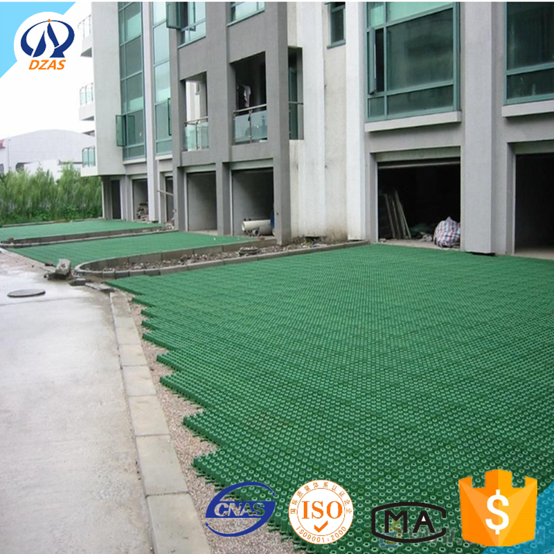 Jardin en plastique renforcement du sol/allée herbe grille ZMH ...