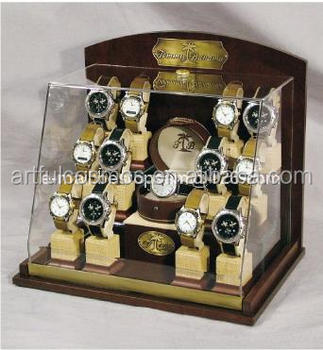Acrylic Watch Display Cabinet With Lazy Susan