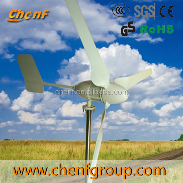 Horizontal axis wind turbine generator system mill power