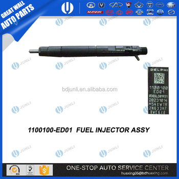 1100100-ed01 Fuel Injector Great Wall Hover H5 Disel Full Car Parts Of  China - Buy Great Wall Hover H5,Great Wall Hover H5 Auto Parts,1100100-ed01