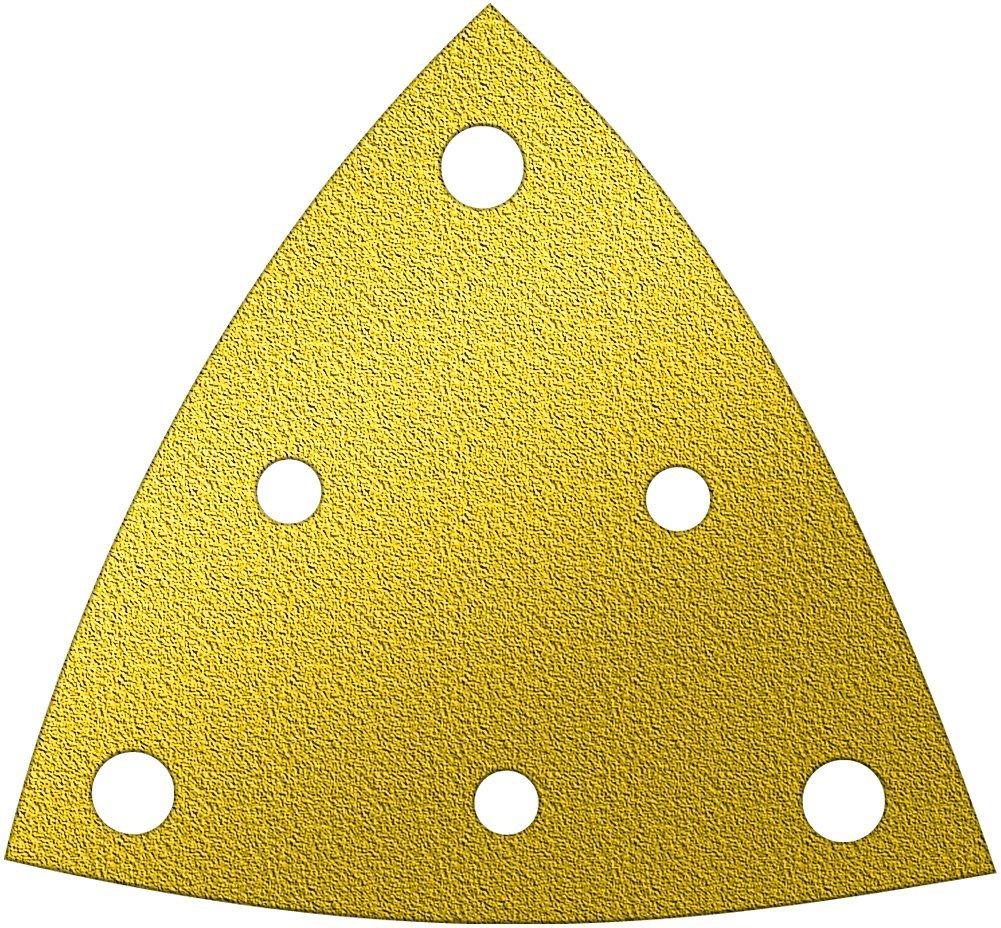 A&H Abrasives 162743, Multi Tool Sanding Shapes, Fein Dremel Multi-max H&l, Fein 6 Hole H&L Aluminum Oxide 100 Grit, 50 Each