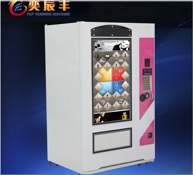 fruit/candy/touch screen vending machine for sale made in China