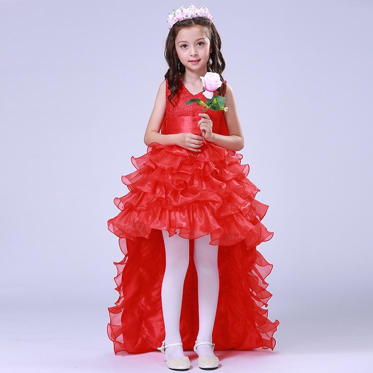 8a94b7624 China Long Puffy Girls Dress