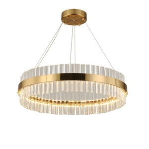 2018 New Product Hanging Lobby Glass Crystal Chandelier pendant lamp