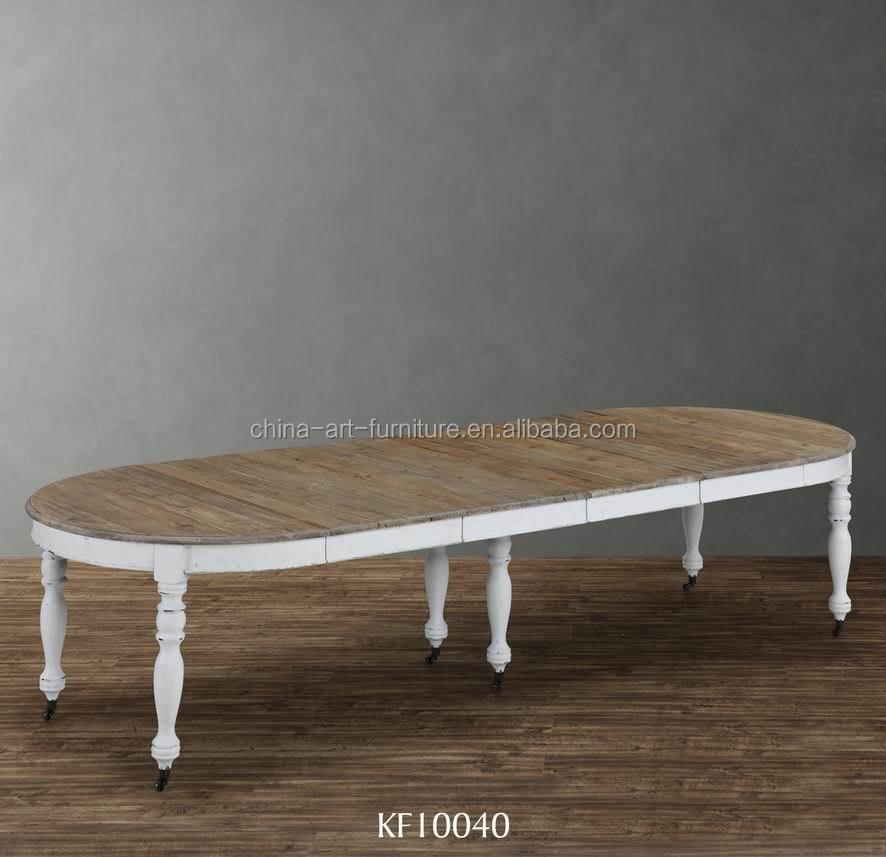 Venta al por mayor mesas comedor redondas extensibles-Compre online ...