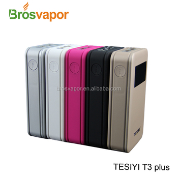2018 Newest TESIYI Type C 3A T3 Plus Charger Portable Battery Charger, Mobile Charger Power Bank from Brosvapor
