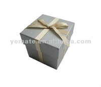 2012 customize made decorative gift boxes, gift box wholesale with ribbon tie