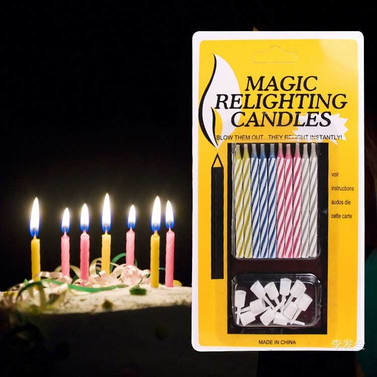 Intelligent Magic Relighting Birthday Candles
