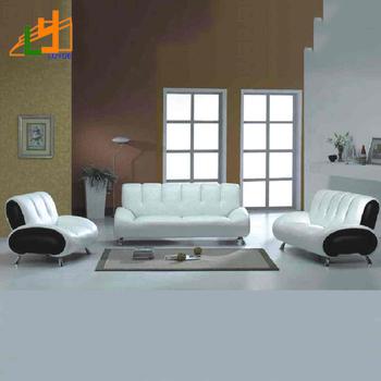 Fashion Desain Kulit Sofa Set Furniture Rumah Ruang Tamu Modern Sofa ...