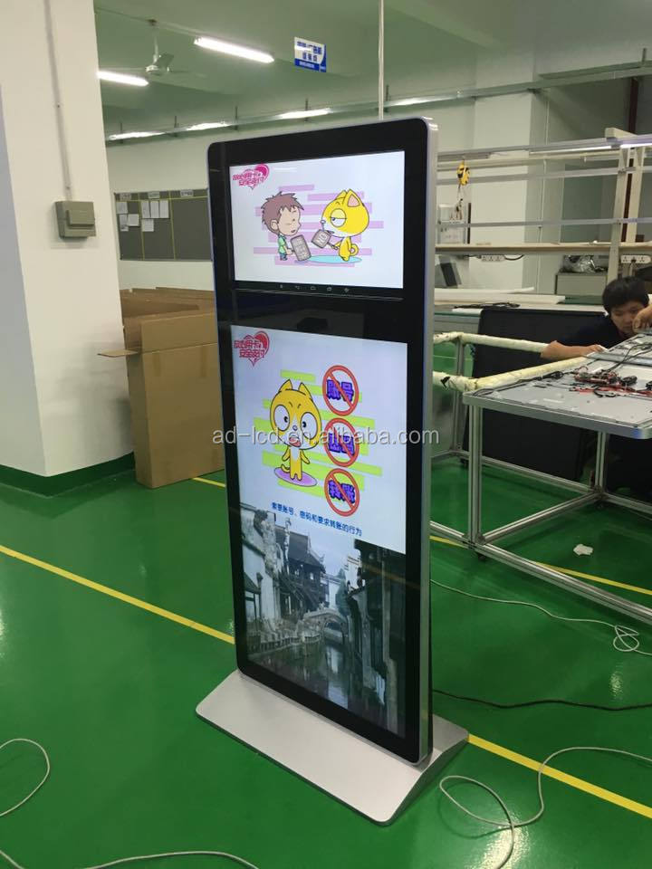 Alibaba hot sale Lcd digital signage display monitor Wifi connected wall mounted TFT lcd digital signage