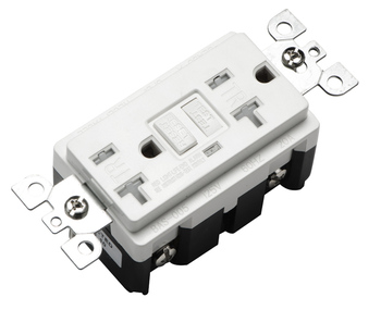 UL listed 20a gfci outlet receptacle,US tamper resistant duplex electrical 20 amps gfci receptacle,self testing